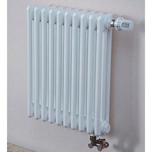 Стальные трубчатые радиаторы ARBONIA, модель 3050, 68 Вт, глубина 105 мм, белый цвет, 1 секция