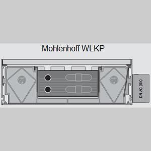 Конвектор Mohlenhoff WLKP 4-х трубный, повышенной мощности WLKP 180-140-1000