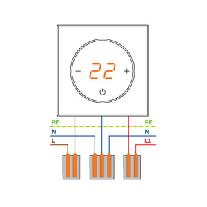 Датчик температуры DeLUMO для терморегулятора