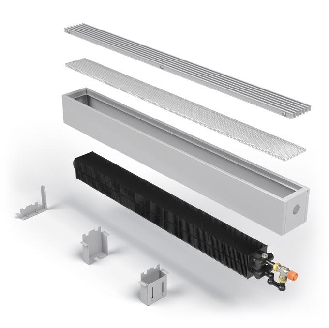Электрические напольные и настенные конвекторы отопления