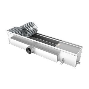Внутрипольный конвектор без вентилятора EVA K.160.165.1250, 443Вт