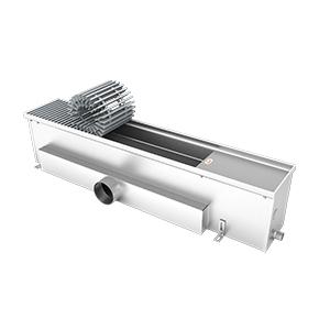 Внутрипольный конвектор без вентилятора EVA K.200.165.2750, 1196Вт