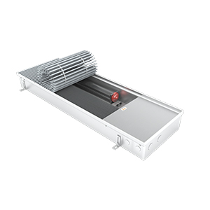 Внутрипольный конвектор с вентилятором EVA KB.100.303.900, 1529Вт