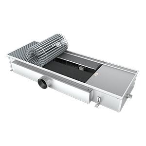 Внутрипольный конвектор с вентилятором EVA KB.125.303.900, 1699Вт