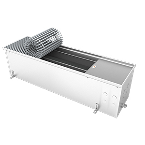 Внутрипольный конвектор без вентилятора EVA KC.250.258.1000, 938Вт