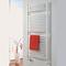 Электрический полотенцесушитель Zehnder Janda Bow, JAE-070-050/GD, цвет белый RAL9016, 300 Вт