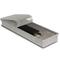Внутрипольный конвектор PrimoClima PCS90-700, решетка из алюминия анодированного в натуральный цвет
