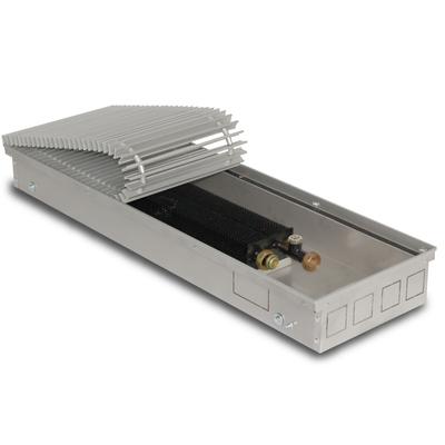 Внутрипольный конвектор PrimoClima PCS90-1000, решетка из алюминия анодированного в натуральный цвет