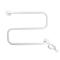 Полотенцесушитель DEVI электрический DEVIrail™, белый 40 Вт, 98804941
