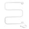 Полотенцесушитель DEVI электрический DEVIrail™, белый 60 Вт, 98808140