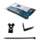 DEVI Deviclip Guardhook. Крепление кабеля на поверхности или на краю металлочереп. кровли: фиксатор кабеля (20 шт) + защелка (10 шт) + пластиковый хомут (30 шт) 19805193