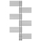 "Водяной полотенцесушитель Терминус ""Европа"" - 32/18 П36, 70х1596"