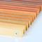 Деревянная решетка без покраски, ширина 190 мм