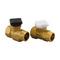 Uponor комплект из двух клапанов для коллектора, артикул 1005100