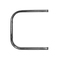 """Полотенцесушитель КЗТО Радиатор """"П1"""" П-образный - 500x600 (Полимер) белый цвет"""