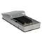 Внутрипольный конвектор PrimoClima PCVM90-900, решетка из алюминия анодированного в натуральный цвет
