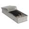 Внутрипольный конвектор PrimoClima PCVN125-900, решетка из алюминия анодированного в натуральный цвет
