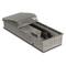 Внутрипольный конвектор PrimoClima PCVNE125-900, решетка из алюминия анодированного в натуральный цвет