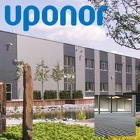 Промышленная система напольного обогрева Uponor