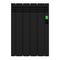 Электрический радиатор Rointe D Series со встроенным Wi-Fi, черный, 500 Вт, 4 секции, DEB0550RAD