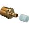 Uponor Minitec штуцер с наружной резьбой 9,9-R1/2НР с кольцом PE-X, артикул 1005265