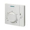 Термостат электромеханический Siemens комнатный с переключателем вкл/выкл., RAA31