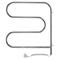 Электрический полотенцесушитель Терминус «F-образный-поворотный» 25 ПСЭ (600 х 600)