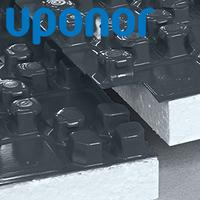 Uponor Tecto - монтаж пола с помощью панелей TECTO