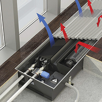Конвекторы VARMANN Qtherm HK (с вентилятором, для охлаждения и отопления)