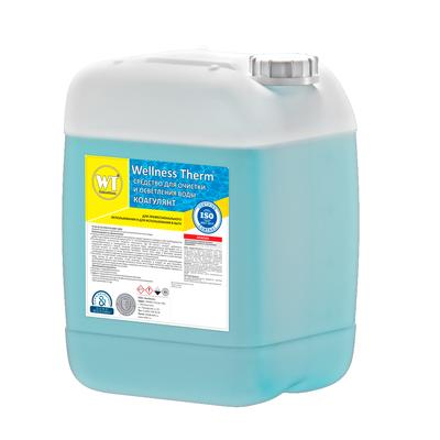 Коагулянт Wellness Therm Средство для очистки и осветления воды 20 л