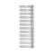Полотенцесушитель КЗТО Радиатор Зета - А-6-570 (Полимер) белый цвет