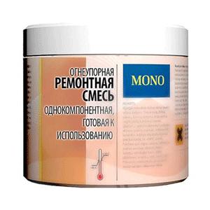HANSA Жаростойкая ремонтная смесь (Однокомпонентная), 1 кг