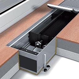 Конвектор электрического нагрева без вентилятора Mohlenhoff ESK 180-110-1250