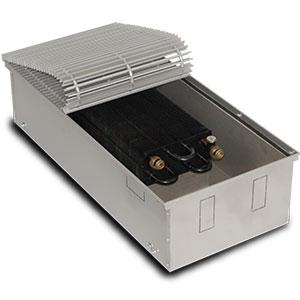 Внутрипольный конвектор PrimoClima PCM200-700, решетка из алюминия анодированного в натуральный цвет