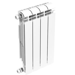 Теплоприбор AR1-500, алюминиевый секционный радиатор, 1 секция