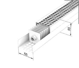 """Фасадные конвекторы отопления Varmann FassadenKlima серия """"Стандарт"""" тип FKS 65.55, цвет RAL 9016 (белый)"""