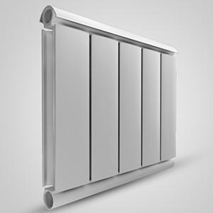 Алюминиевый радиатор SILVER 500, 1 секция
